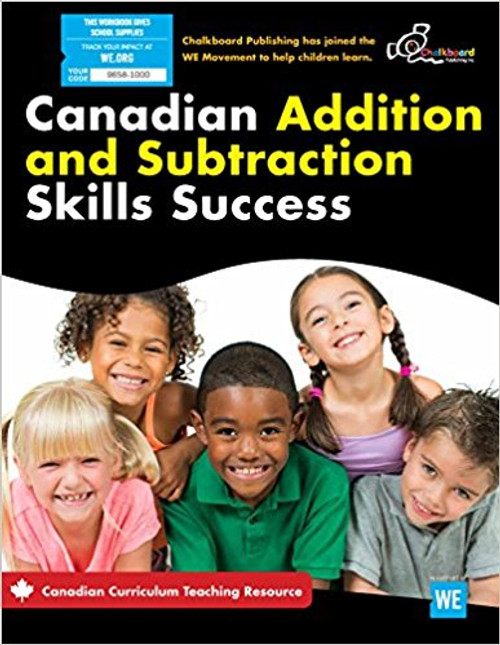 Canadian Addition And Subtraction Skills Success 1-3  Front Cover