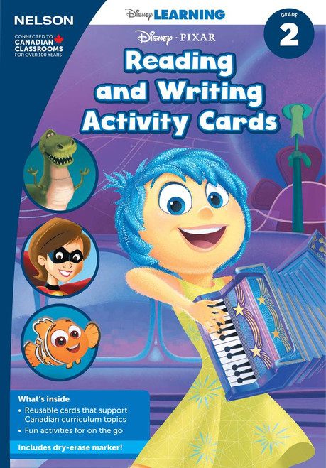 Reading and Writing Activity Cards (Grade 2) - Front Cover