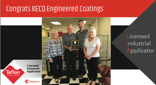 Intech Services Thanks Keco Engineered Coatings Inc. for Its Service as an LIA