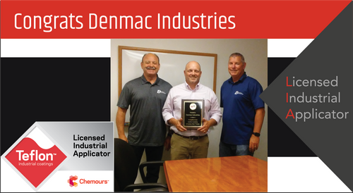 Intech Services Thanks Denmac Industries for Its Service as an LIA