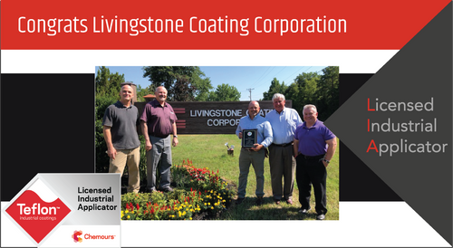 Intech Services Thanks the Livingstone Coating Corporation for Its Service as an LIA