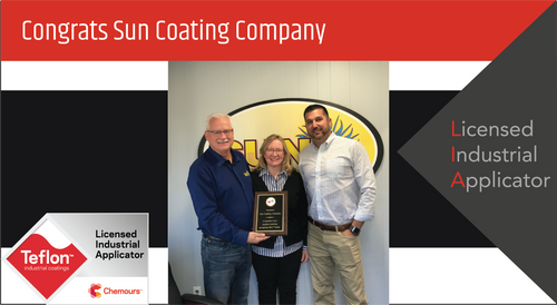 Intech Services Thanks Sun Coating Company for Its Service as an LIA