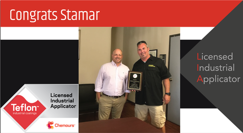 Intech Services Thanks Stamar Engineering for Its Service as an LIA