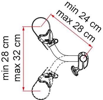 Fiamma Carry-Bike Block Pro S2 Black & Red (07215A01A)