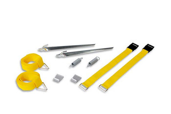 Fiamma Motorhome Awning Tie Down S Kit Yellow (98655-567)