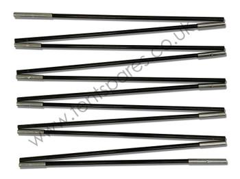 Hi Gear Rock 4 Black Fibreglass Main Pole