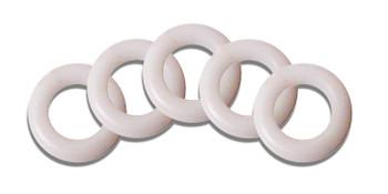 Universal 18mm White Inner Tent & Tri-Guy 'O' Rings (Pack of 4)