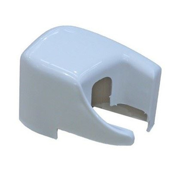 Fiamma F45 Plus & F45 Elegance XL-S Right Hand Outer End Cap - Polar White (02741-01-)