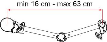 Fiamma Carry-Bike Black & Red Block Pro S D2 (07215E01A)