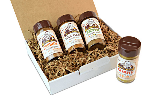 Seasonest Ghosted Extreme Heat 4 Pack Spice Blends