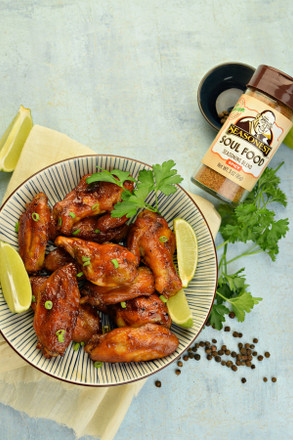 Sticky Coke Wings