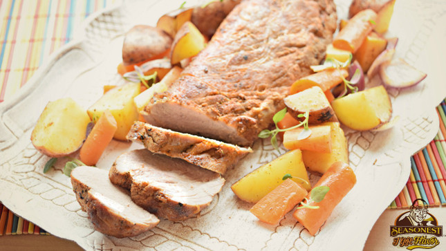 Pork Tenderloin Recipe with Original Seasoning Blend
