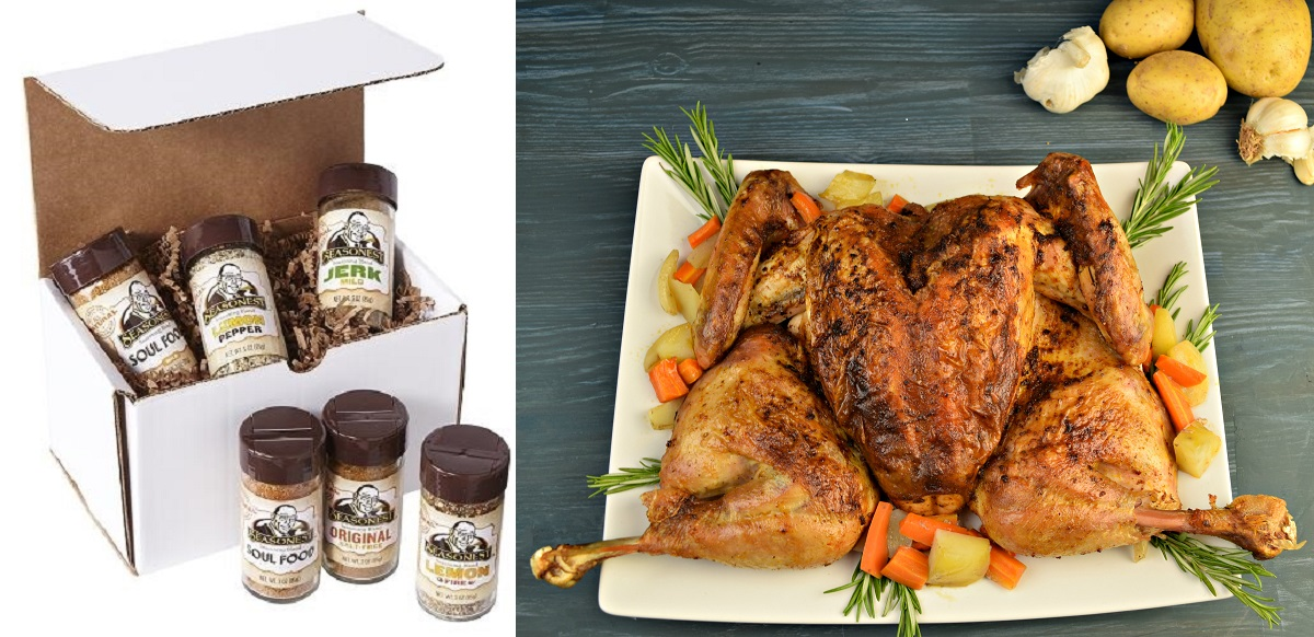 Spice Things Up - Seasonest 6 Pack Spices - Spatchcock Turkey