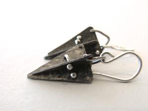 rocket earrings