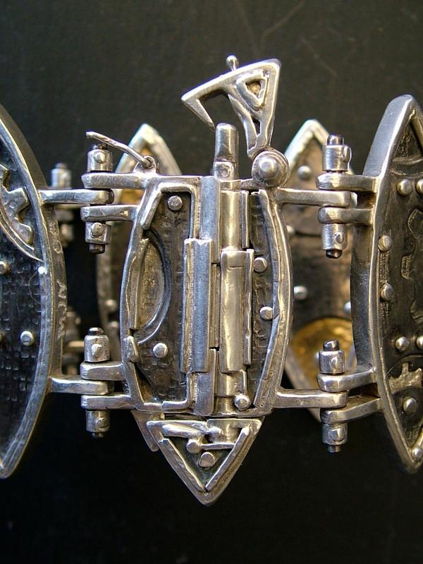 Mechanical Seed Pod Bracelet