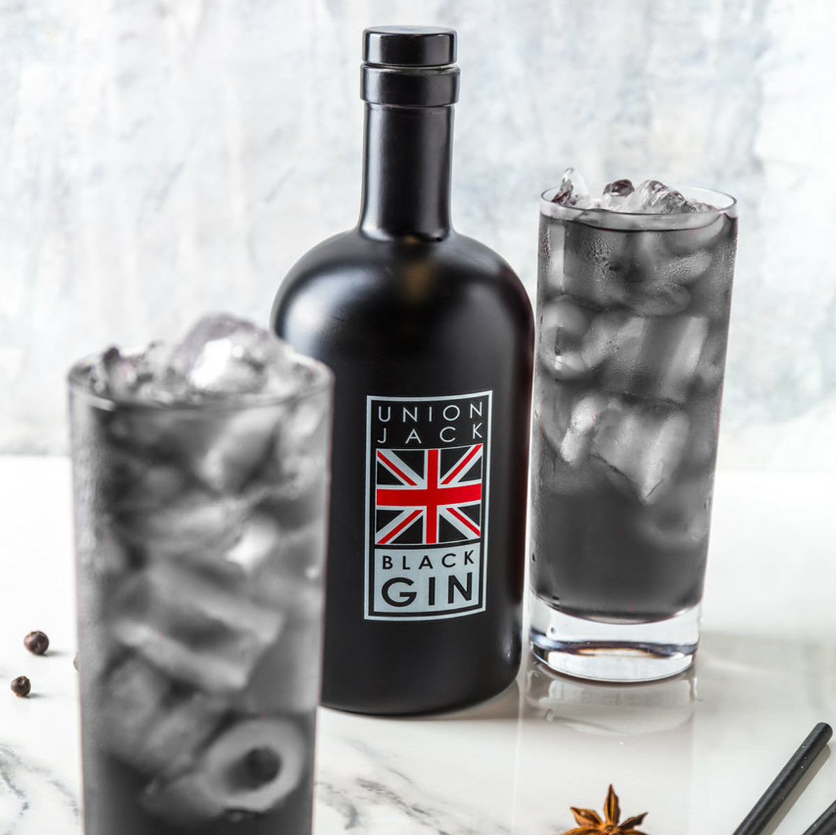 Union Black Jack Gin - 50cl