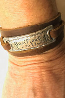 Resilient Sterling Silver Bracelet