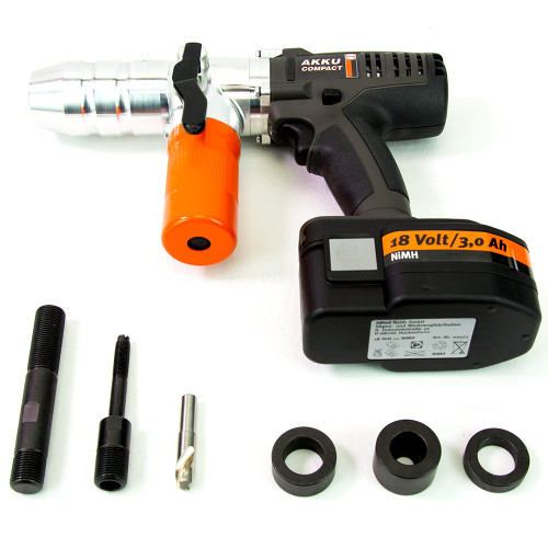 ALFRA 02070.120V AKKU Compact Cordless Punch Kit