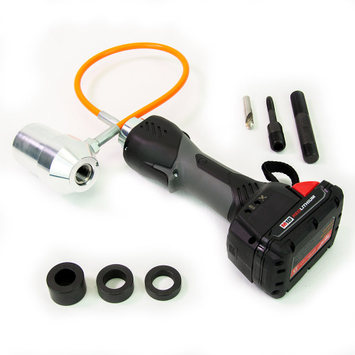 ALFRA 02082.120V AKKU Compact Flex Cordless Punch Kit