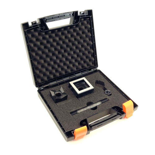 """ALFRA 01306 Square Punch, Die and Screw Set 2"""" DIA"""