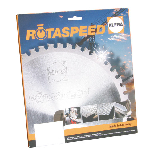 "ALFRA 22305 RotaSpeed 9"" DIA Circular Saw Blade for Steel Application"