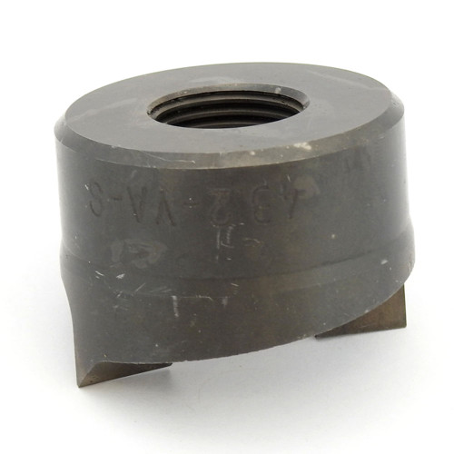 """ALFRA 01562-ST TwinCut Round Punch 1-11/16"""" DIA"""
