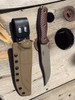 Hybrid Kydex® - Leather Drop loop with snaps