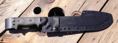 black open back with hybrid dangler