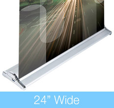 SilverStep 24 Retractable Banner Stand