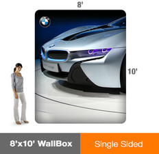 WallBox 8'x10' - Single Sided Display