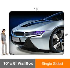 10x8' Wallbox Display - Single Sided