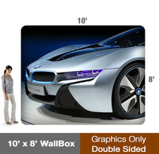 10x8' Wallbox Display - Single Sided - Graphic Only
