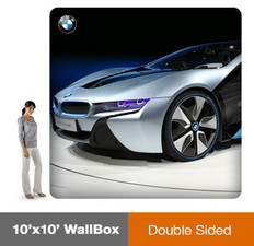 10x10' Wallbox Display - Double Sided