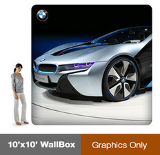 WallBox 10x10' - Single Sided - Graphics Only
