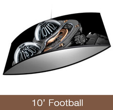 Football Hanging Sign