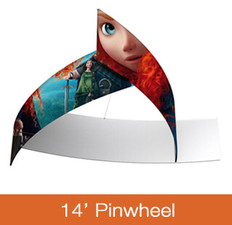 Pinwheel Hanging Sign