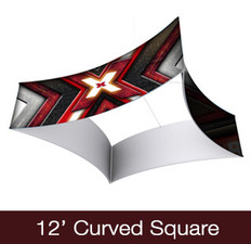 Curved Square Hanging Sign