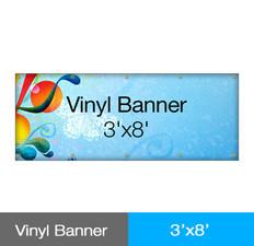 Vinyl Banner 3'x8'