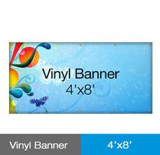 Vinyl Banner 4'x8'