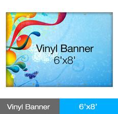 Vinyl Banner 6'x8'