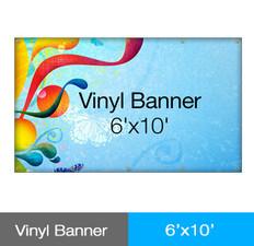 Vinyl Banner 6'x10'