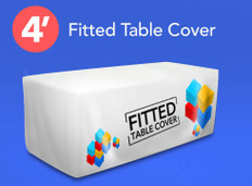 4ft Fitted Table Cover