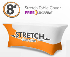 8' Stretch Table Throw
