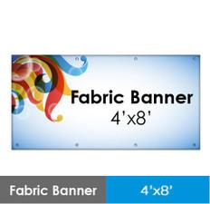 Fabric Banner 4'x8'