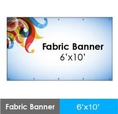 Fabric Banner 6'x10'