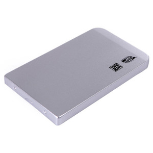 LUPO SATA USB 2.0 External 2.5 Inch Laptop Hard Drive HDD Solid State Drive SSD Case Caddy Enclosure - SILVER
