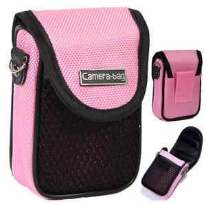 LUPO Universal Compact Digital Camera Case Bag (Internal Size: 100 x 65 x 30mm) - PINK