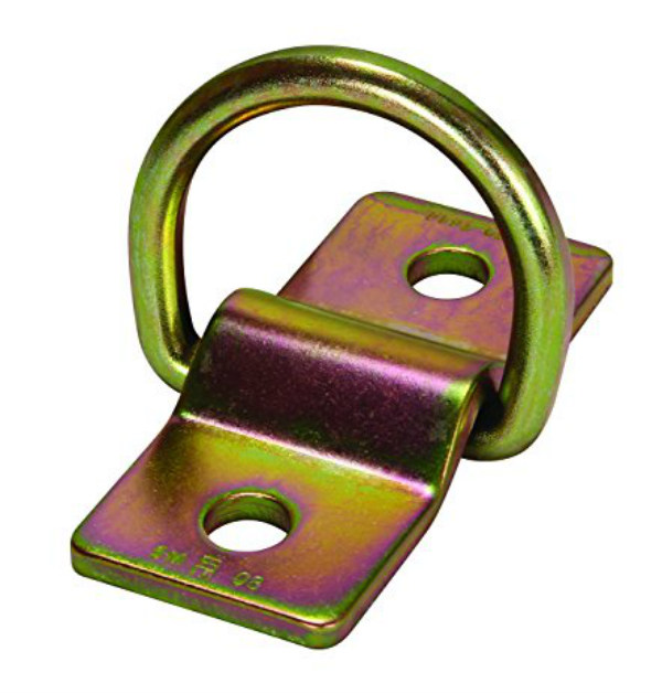 FallTech 7414SS Bolt-On D-Ring Anchor w/ Stainless Steel Plate