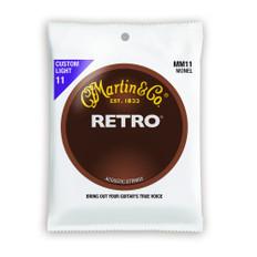 Martin MM11 Retro Acoustic Guitar Strings 11-52