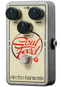 Electro-Harmonix Soul Food Guitar Overdrive Pedal